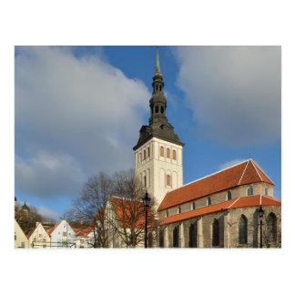 St. Nicholas' Church, Tallinn, Estonia Postcard