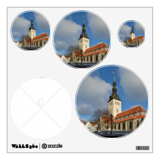 St. Nicholas' Church, Tallinn, Estonia Wall Decal