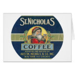 St. Nicholas Coffee Greeting Card