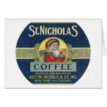 St. Nicholas Coffee Greeting Cards