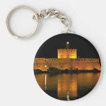 St Nicholas Fortress - Šibenik, Croatia Basic Round Button Keychain