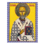 St. Nicholas icon Post Card
