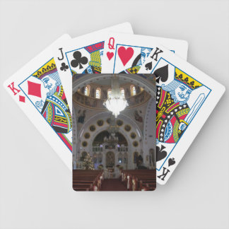 St. Nicholas Interior Bicycle Playing Cards
