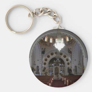St. Nicholas Interior Keychain
