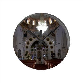 St. Nicholas Interior Round Clock