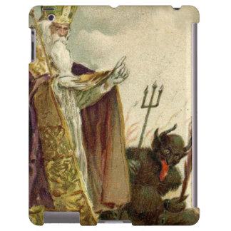 St Nicholas Krampus Pitchfork Priest
