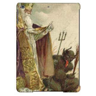 St Nicholas Krampus Pitchfork Priest Cover For iPad Air