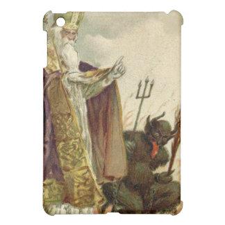 St Nicholas Krampus Pitchfork Priest iPad Mini Cover