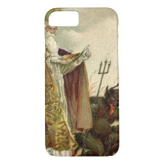 St Nicholas Krampus Pitchfork Priest iPhone 8/7 Case