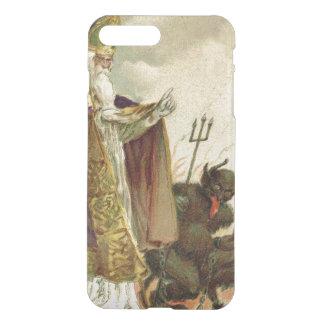 St Nicholas Krampus Pitchfork Priest iPhone 8 Plus/7 Plus Case