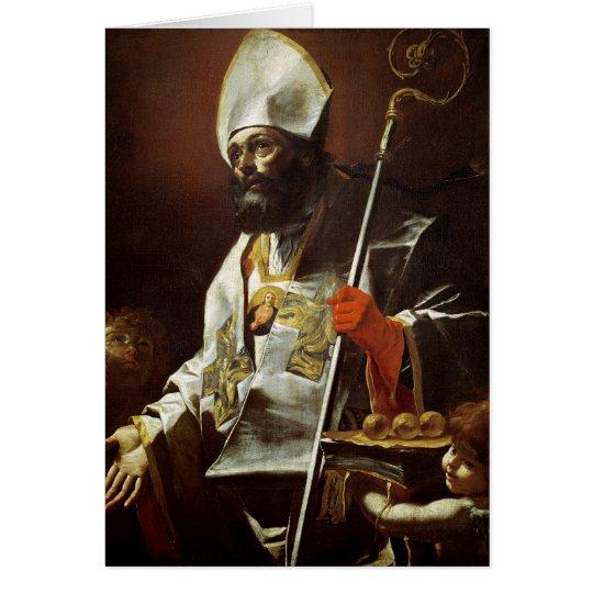 St. Nicholas of Bari Card