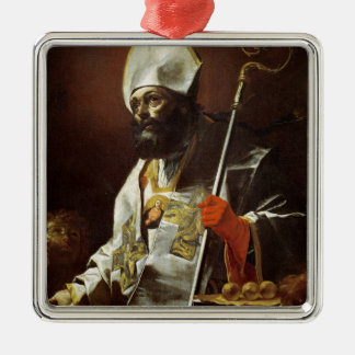 St. Nicholas of Bari Metal Ornament