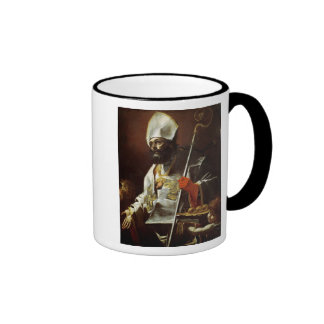 St. Nicholas of Bari Ringer Coffee Mug