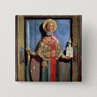 St. Nicholas of Mozhaisk, Yaroslavl School Button