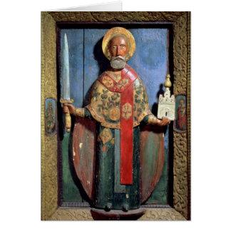 St. Nicholas of Mozhaisk, Yaroslavl School Card