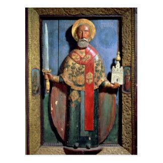 St. Nicholas of Mozhaisk, Yaroslavl School Postcard