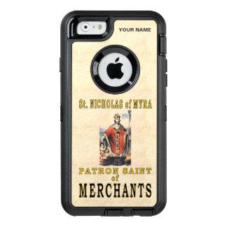 St. NICHOLAS of MYRA (Patron Saint of Merchants) OtterBox Defender iPhone Case