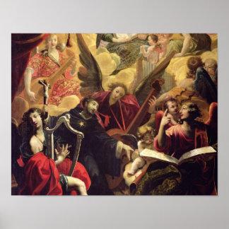 St. Nicholas of Tolentino Poster