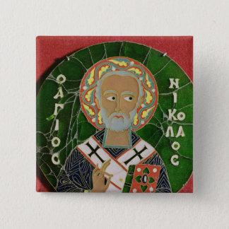 St. Nicholas Pinback Button