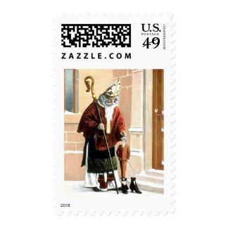 St. Nicholas Postage Stamp
