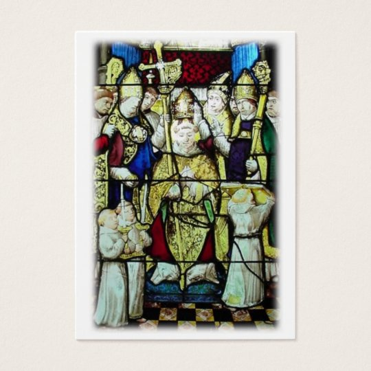 St. Nicholas Prayer Card