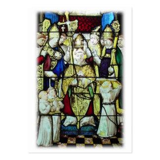 St. Nicholas Prayer Card Business Cards