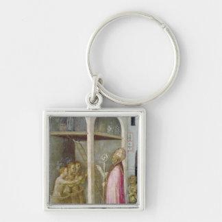 St. Nicholas Resuscitates the Three Children Keychain