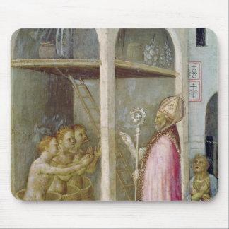 St. Nicholas Resuscitates the Three Children Mouse Pad