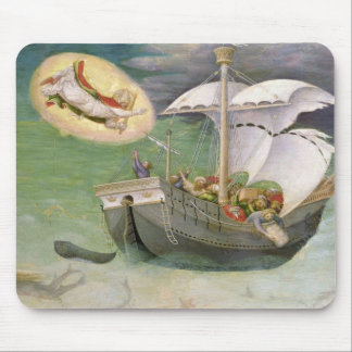 St. Nicholas Saves a Ship from Wreckage Mouse Pad