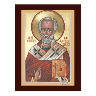 St. Nicholas the Wonderworker Prayer Card
