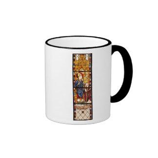 St. Nicholas with a donor Ringer Mug