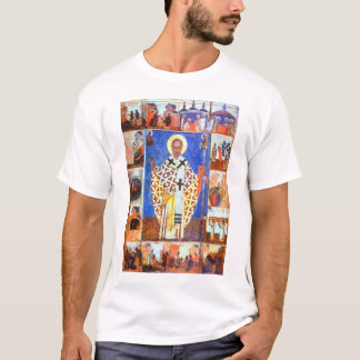 St Nicholas with Scenes from his Life2 T-Shirt