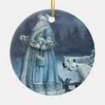 St. Nick del vintage Ornamente De Reyes