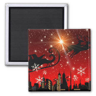 St Nick on Christmas Eve Magnet