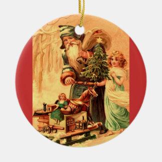 st nick xmas ornament