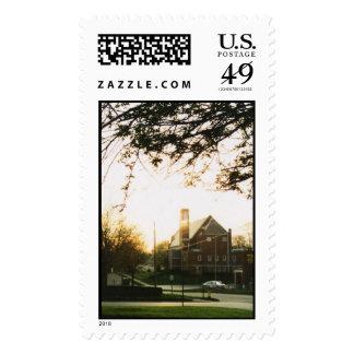 st nicks church postage stamps