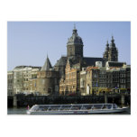 St. Nicolaaskerk and the Tower of Tears, Amsterdam Post Card