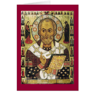 St. Nicolas Greeting Card