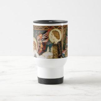 St. Novia llevada por los ángeles de Juan Duncan Tazas De Café