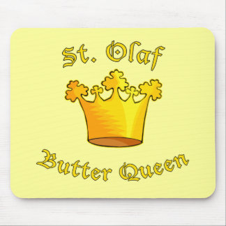 St. Olaf Butter Queen Products Mouse Pad
