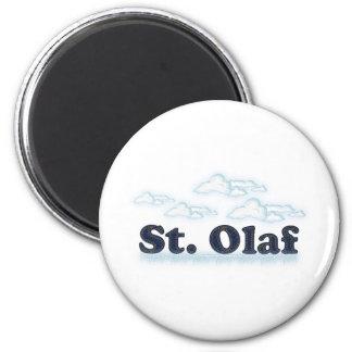 St. Olaf Imán Redondo 5 Cm