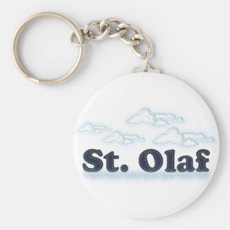 St. Olaf Llavero Redondo Tipo Pin