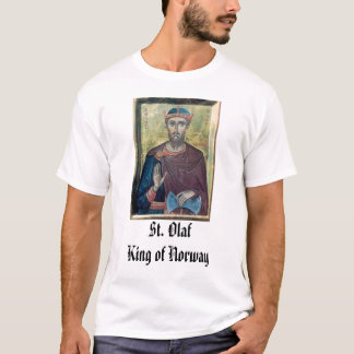 St. Olaf, St. Olaf King of Norway T-Shirt