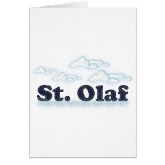 St. Olaf Tarjeta De Felicitación