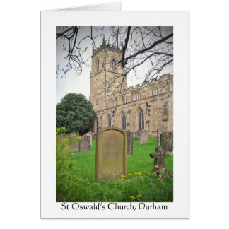 St Oswald's Church, Durham Card