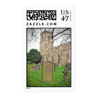 St Oswald's Church, Durham Postage
