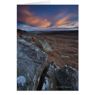 St Oswald's Way, Northumberland National Park, Card