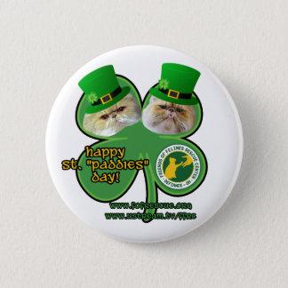 st. paddies day button - design 2