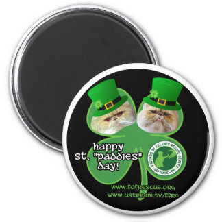 st. paddies day magnet - design 1