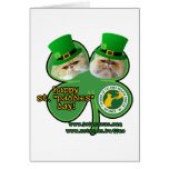 st. paddies day - note cards